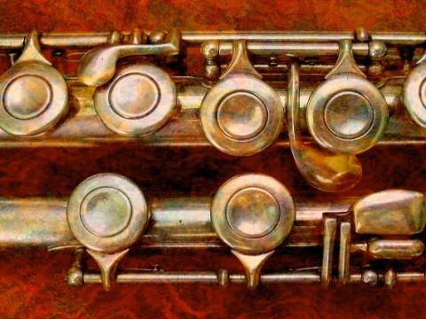 Koperen fluit