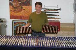 Dagan Showing Flutes